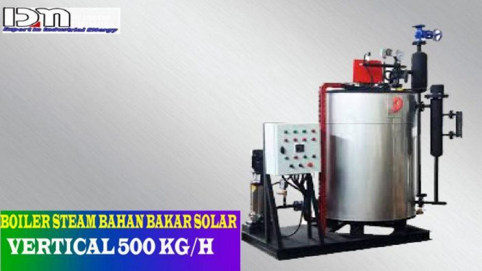 BOILER STEAM 500 KG