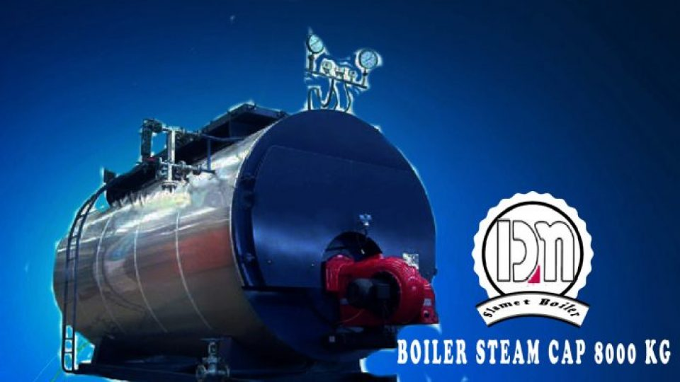 BOILER 8000 KG