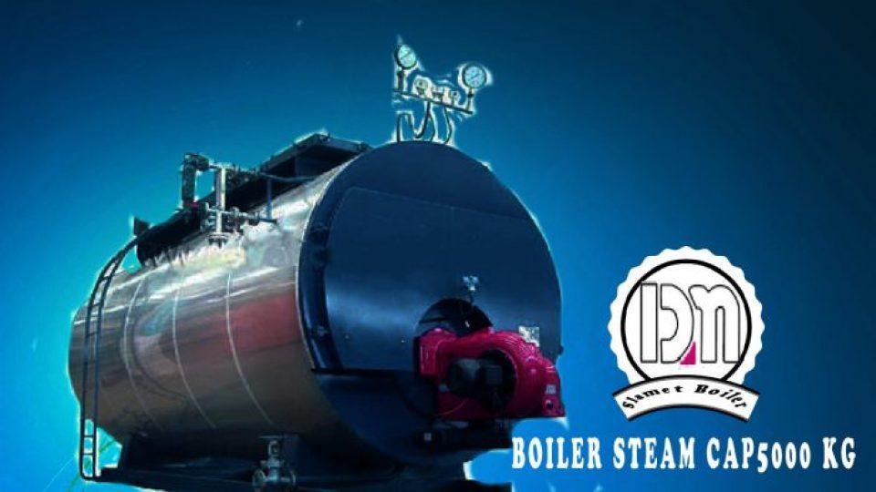 BOILER STEAM 5000 KG