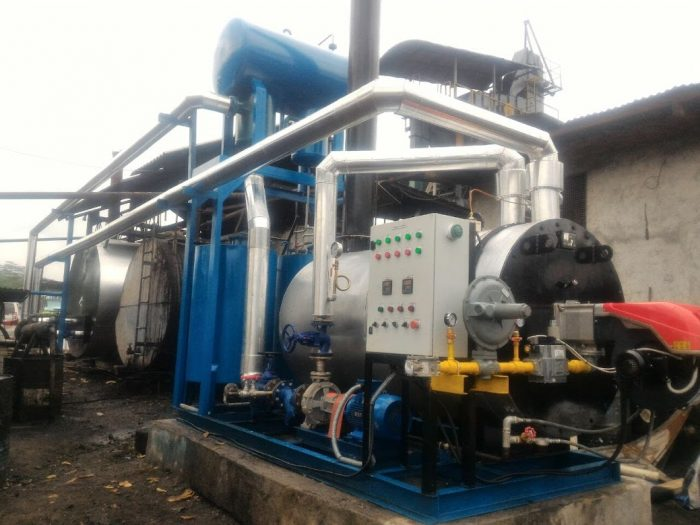 Thermal oil heater buatan anak indonesia